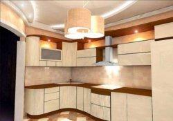 Каким должно быть освещение потолка на кухне