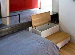Как оптимизировать пространство в небольшой спальне.